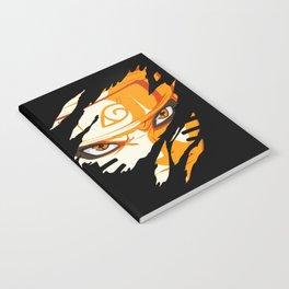 Hero Face Notebook