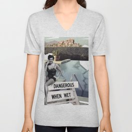 Pool with a View Unisex V-Neck
