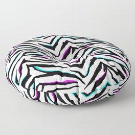 Zazzy Zebra Animal Print Floor Pillow