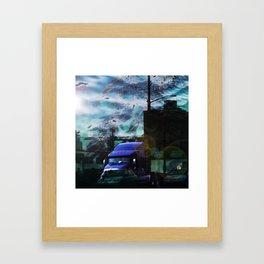 Seaweed Trucking Framed Art Print