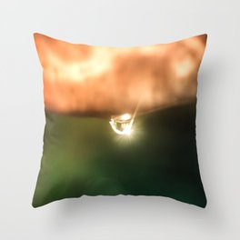 Just a drop of water in an endless sea Throw Pillow