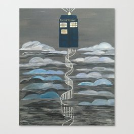 Doctor Who Magical Staircase Canvas Print