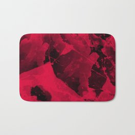 Watercolor abstract art Bath Mat