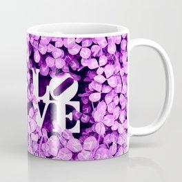 LOVE: CLOVER ORCHID Coffee Mug