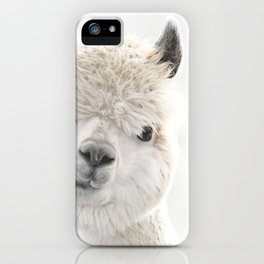 PEEKY ALPACA iPhone Case