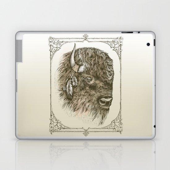 Portrait of a Buffalo Laptop & iPad Skin