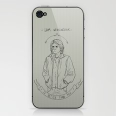 sam winchester is better than you iPhone & iPod Skin