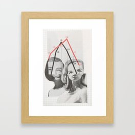 graph fundamentals Framed Art Print
