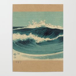Hato Zu - Waves Poster