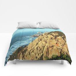 Cabo da Roca, Portugal Analog 6x6 Kodak Ektar 100 (RR 161) Comforters
