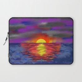 Ocean Sunet Laptop Sleeve