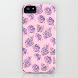 Rose pattern iPhone Case