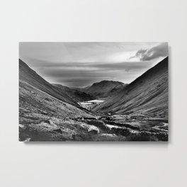 Lake District, England. Metal Print