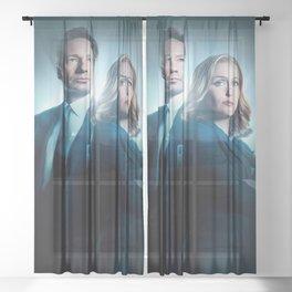 X Movie Sheer Curtain
