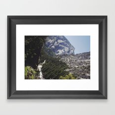 yosemite nature Framed Art Print