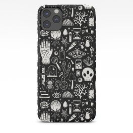 Curiosities: Bone Black iPhone Case