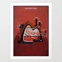 018_ARCREATURES-01 Art Print