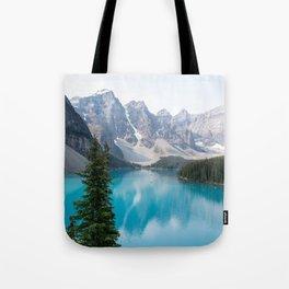 Moraine Lake - One Tree Tote Bag
