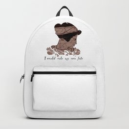 I Would Rule my Own Fate - Helen of Sparta Backpack