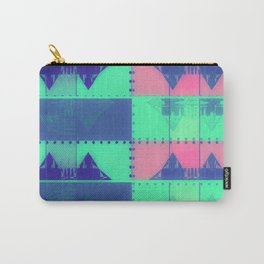 Squares, Quads & Dots in Pastel Colors Carry-All Pouch