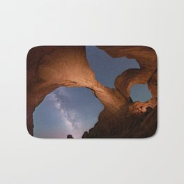 Double Arch in Arches National Park 2 Bath Mat