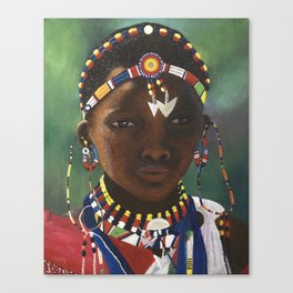 Children of the World IV Canvas Print