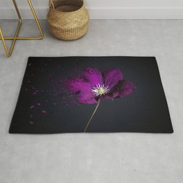 Clematis Explosion Rug