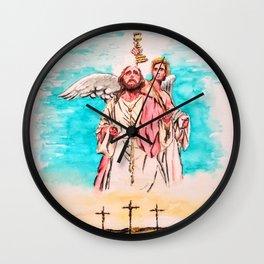 Death & Resurrection Wall Clock