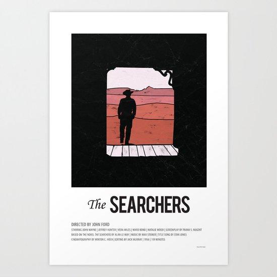 The Searchers (1951) Art Print