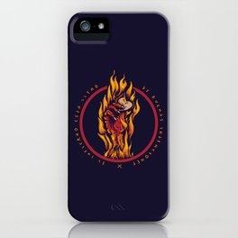El infierno iPhone Case