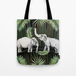 The Elephant Queens Tote Bag