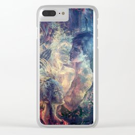 Eternal Spring Clear iPhone Case