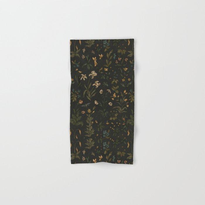Old World Florals Hand & Bath Towel