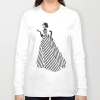 dress Long Sleeve T-shirts featuring Dress by Yordanka Poleganova