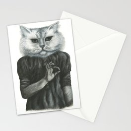 Cat Child Stationery Cards