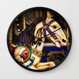 Pony ride @ fair Wall Clock