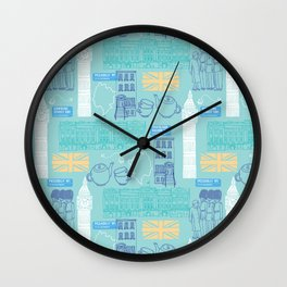 Queen and Country - Mint Wall Clock
