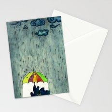 Oh! Raining Night Stationery Cards