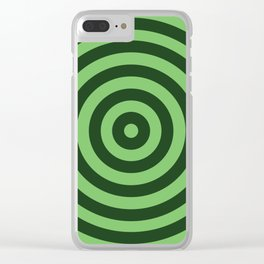 Vanishing Point 2 - Easy Being Green Clear iPhone Case