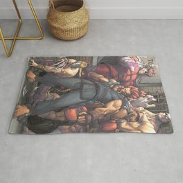 Street Fighter - Villains Rug