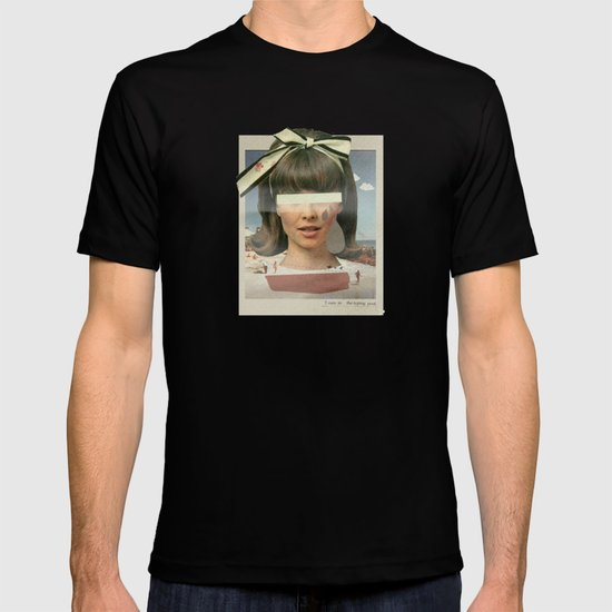 Tears In The Typing Pool | Collage T-shirt