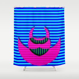 A crazy thing with stripes ... Shower Curtain