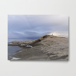 Finmark, North of Norway, dramatic landscape Metal Print