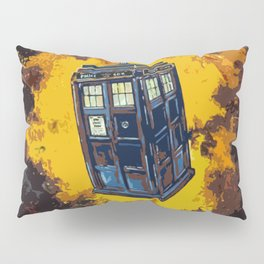 Tardis Explodes Pillow Sham