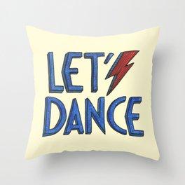 Let´s Dance Throw Pillow