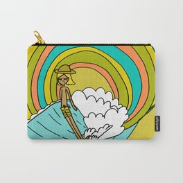 groovy vibes hang 10 by surfy birdy Carry-All Pouch