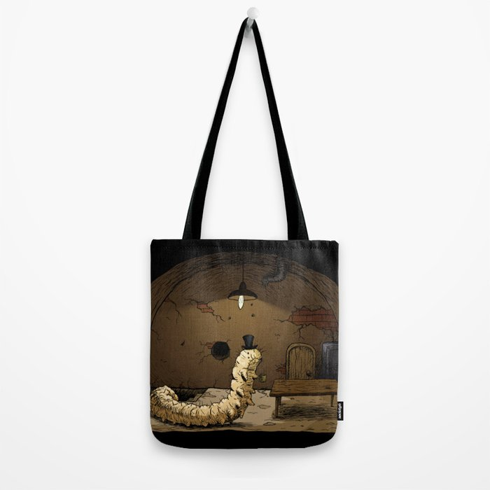 A Caterpillar Named Gigiphinaleus Tote Bag