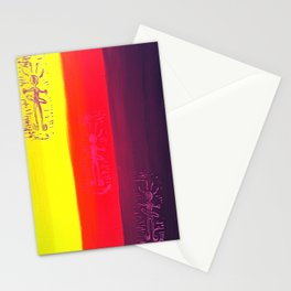Hula Hooping Hippies Stationery Cards
