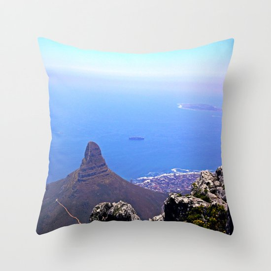 South Africa Impression 9 Throw Pillow