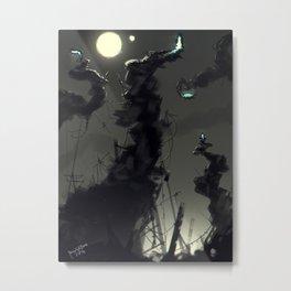 Warp Gates Metal Print